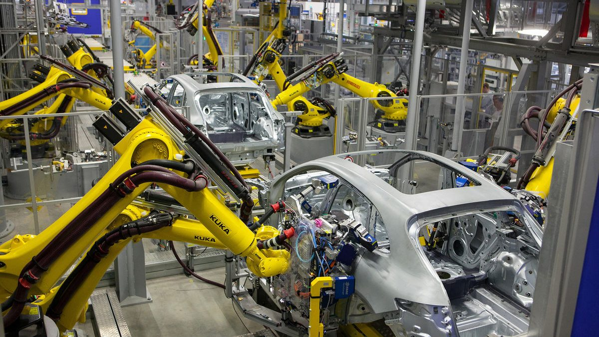 Robots are spreading through the workforce. Will they crowd out humans?