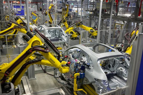 Robots are spreading through the workforce. Will they crowd out humans
