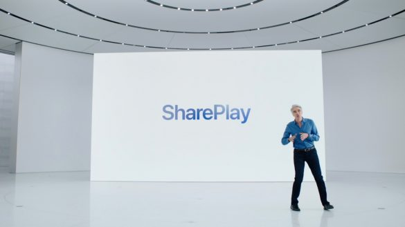 Apple introduces SharePlay for co-watching, streaming, and screen sharing over FaceTime