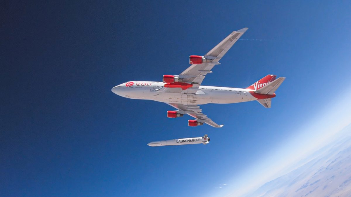 Virgin Orbit successfully launches its first commercial payloads to space