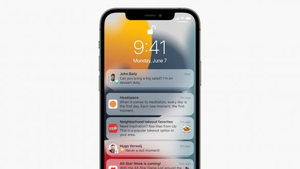 Apple refines iOS 15 notifications with Focus - Summary features