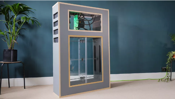 DIY builder makes 'breathing' RTX 3080 PC and it's the coolest build we've ever seen