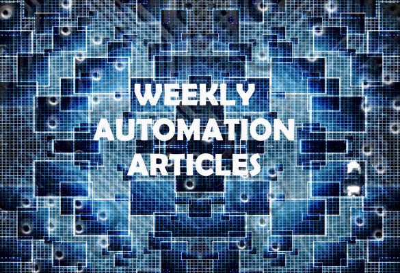 Week's Automation Articles