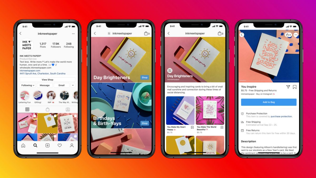 Instagram tests ads in its Shop tab