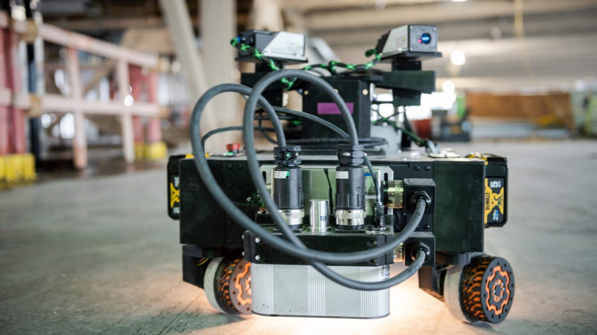 Rugged showcases its layout printing construction robots
