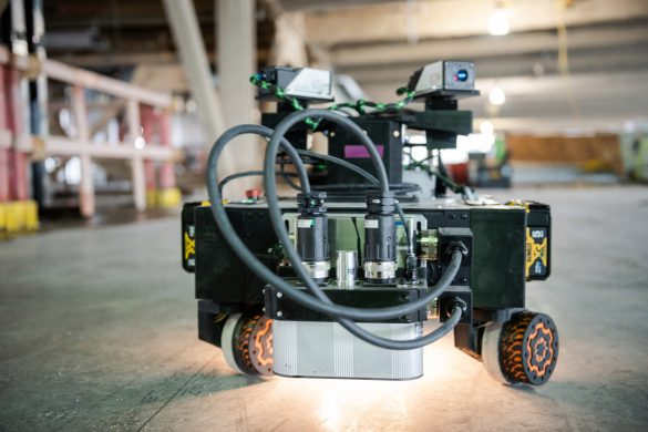 Rugged showcases its layout-printing construction robots